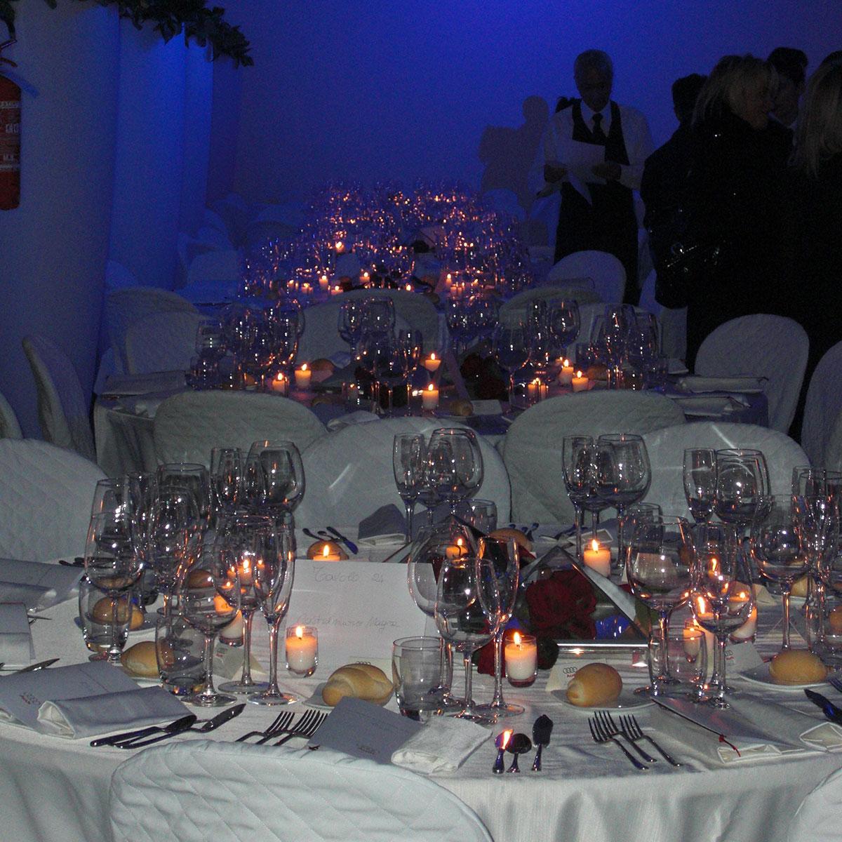 Allestimento tavoli cerimonie | Negriricevimenti.com
