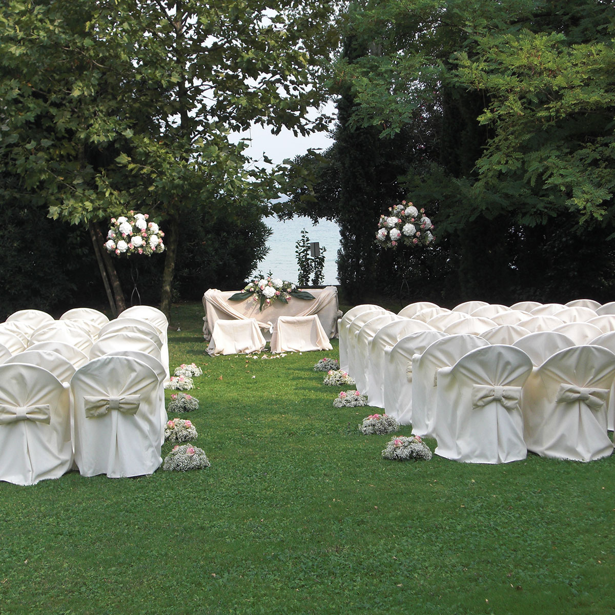 Matrimoni in giardino | Negriricevimenti.com