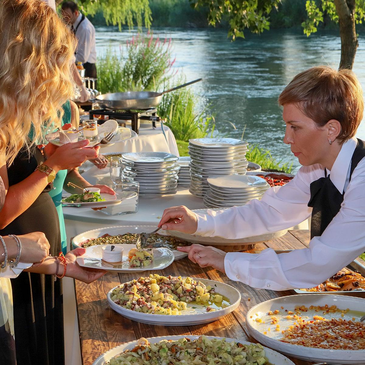 Servizio buffet | Negriricevimenti.com