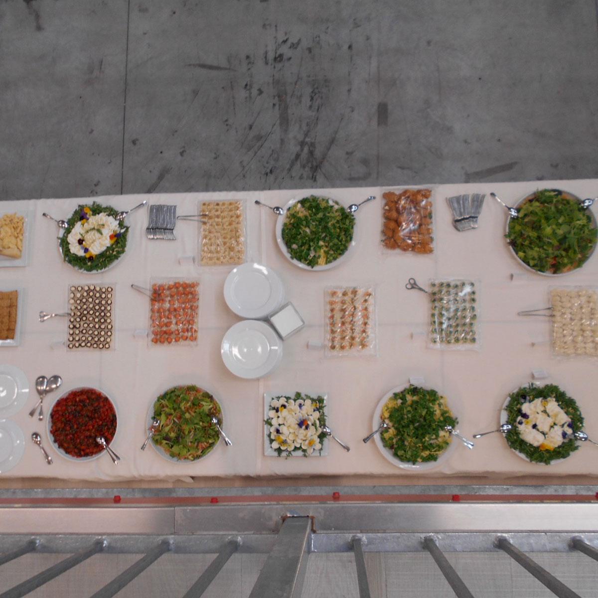 Tavola buffet cerimonie | Negriricevimenti.com